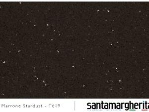 искусственный кварц Maron stardust