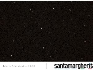 искусственный кварц Nero stardust