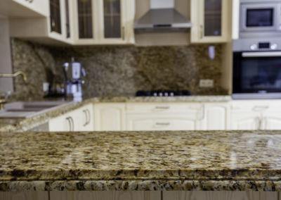 Blat de granit lustruit Granit Giallo Santa Cecilia, 2 cm(3)