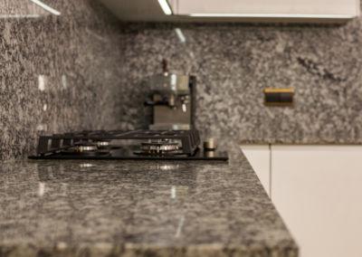 Blat de granit lustruit Spray White, 2 cm(3)