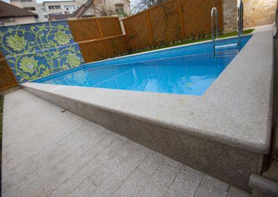 Decorare bazinului cu Granit G681, -3cm -termo
