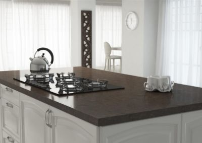 Кварцевая столешница для кухни Quartz Alberta 2 cm