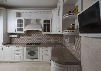 Кварцевая столешница для кухни Quartz Pompei 2 cm