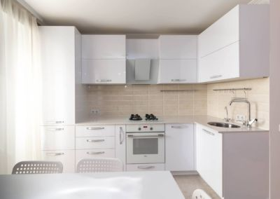 Кварцевая столешница для кухни Quartz Sand White 2 cm