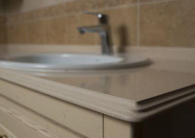 Кварцевая столешница в ванную Corda -2cm, lustruit (3)
