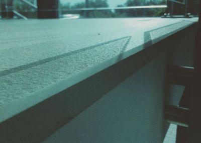 Лестницы из искусственного камня Lapitec Bianco Crema -2cm -dune (Aeroport Chisinau) (4)