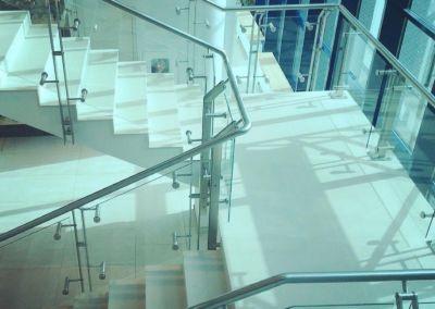 Лестницы из искусственного камня Lapitec Bianco Crema -2cm -dune (Aeroport Chisinau) (6)