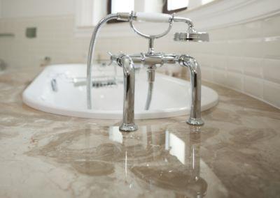 Мраморная столешница в ванной Breccia Oniciata -3cm (6)
