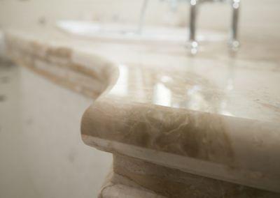 Мраморная столешница в ванной Breccia Oniciata -3cm (7)
