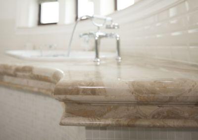 Мраморная столешница в ванной Breccia Oniciata -3cm (8)