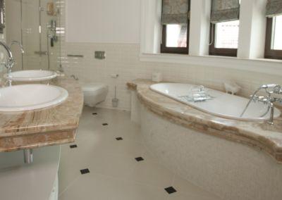 Мраморная столешница в ванной Breccia Oniciata -3cm (9)
