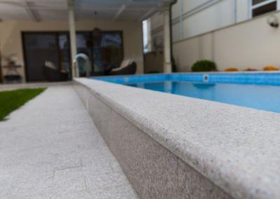 Отделка бассейна гранитной плиткой G681, -3cm -termo (9)