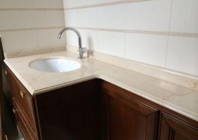 Столешницы из мрамора в ванную Crema Marfil -2cm - lustruit (2)