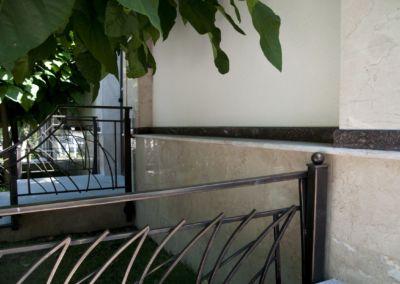 Забор из натурального камня. Мрамор Crema nova -2cm -lustruit (4)