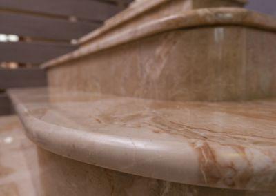 лестница из мрамора Breccia Oniciata -2cm -lustruid (2)