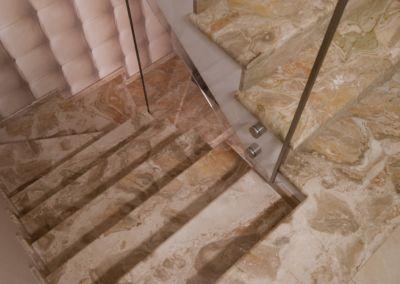 лестница из мрамора Breccia Oniciata -2cm -lustruid (3)