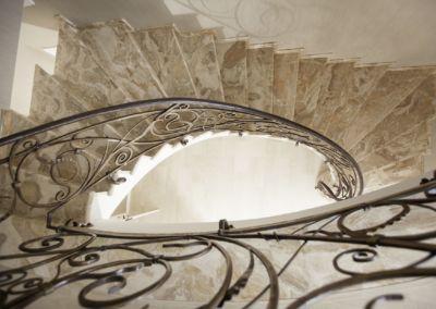 лестница мраморная Breccia Oniciata -2cm -lustruid (7)