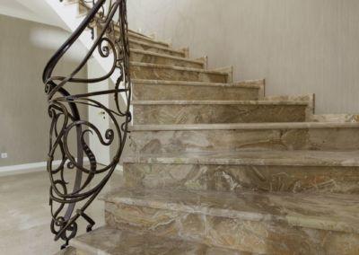 лестница мраморная Breccia Oniciata -2cm -lustruid (9)