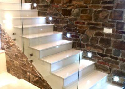 лестницы из искусственного камня. кварц Trevi, 2 cm, lustruit (3)