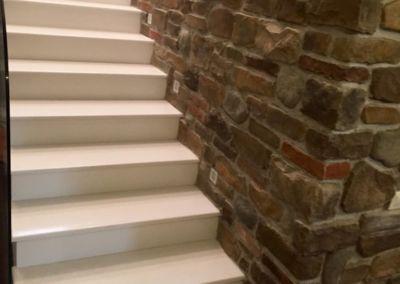 лестницы из искусственного камня. кварц Trevi, 2 cm, lustruit