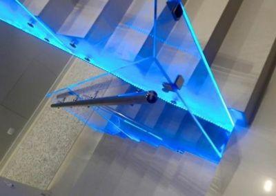 лестницы из искусственного камня. кварц Zenit, 2 cm, lustruit