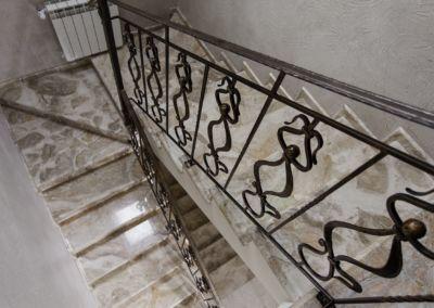 мраморная лестница Breccia Oniciata -2cm -lustruid (14)