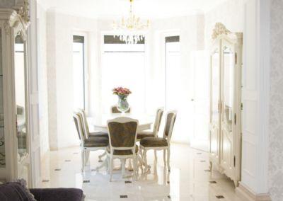 мраморные полы в квартире Crema Marfil -2cm - lustruit (6)