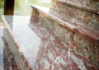 ступени из мрамора Suprem Salome -3cm - lustruit (5)
