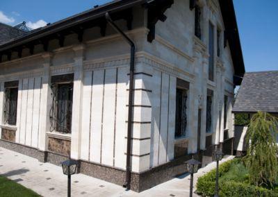 Piatra pentru soclu. Granit exterior Baltic Brown, -2cm полированный
