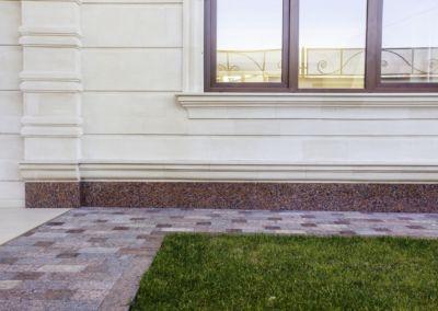 Piatra pentru soclu. Granit exterior G562 -2cm полированный