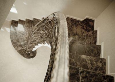 Scari din marmura Emperador Dark -2cm -lustruid (4)